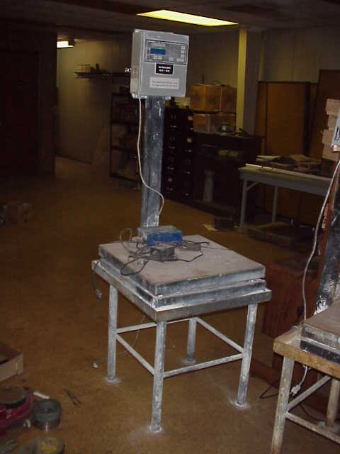 Item Flex Weigh Corp Scale 24 Quot X 24 Quot On Stand Model