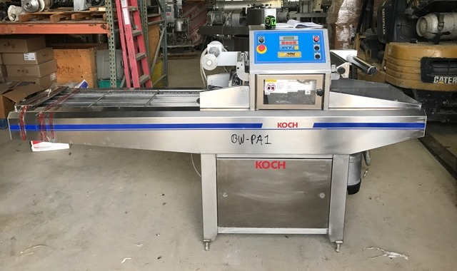 ***SOLD***Koch Model FP700 Speedy automatic tray sealer. S/N FP5334.  220 volt, 3 ph.