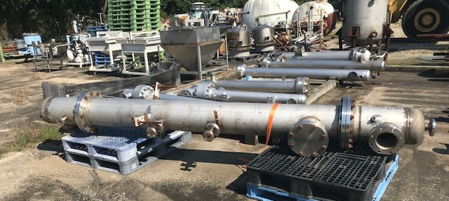 ***SOLD*** used Stainless Steel Distillation Column. 12