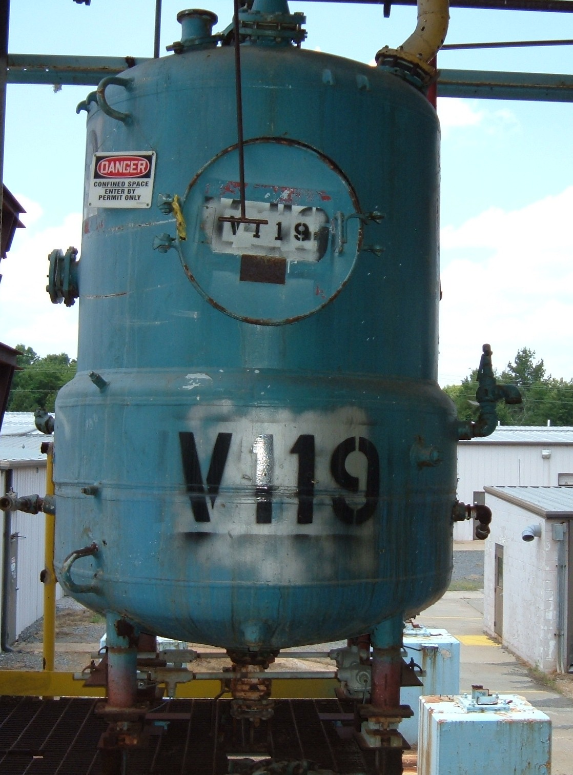 500 Gallons.  Glass Lined, Carbon Steel.  Half Jacketed. Located in Rock Hill, SC. Quoted AIWI.