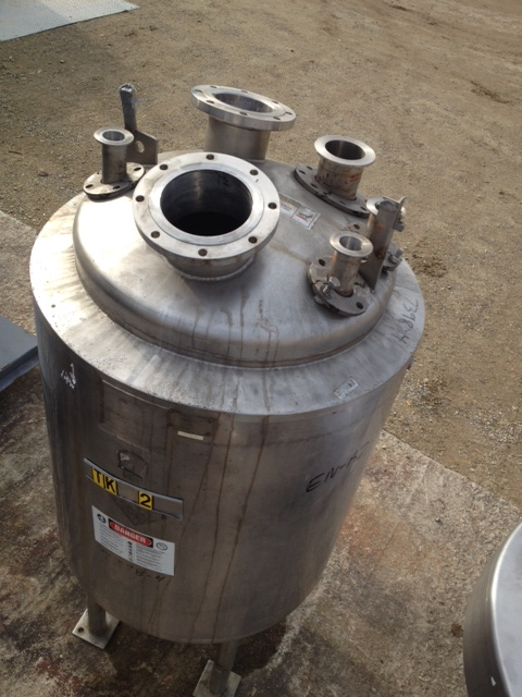 130 Gallon Northland Stainless Reactor vessel. approx. 2'6