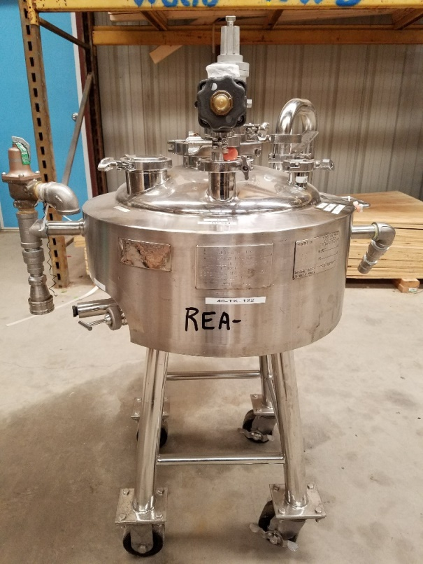 used 10 Gallon Pharmaceutical Reactor/Fermenter. 18