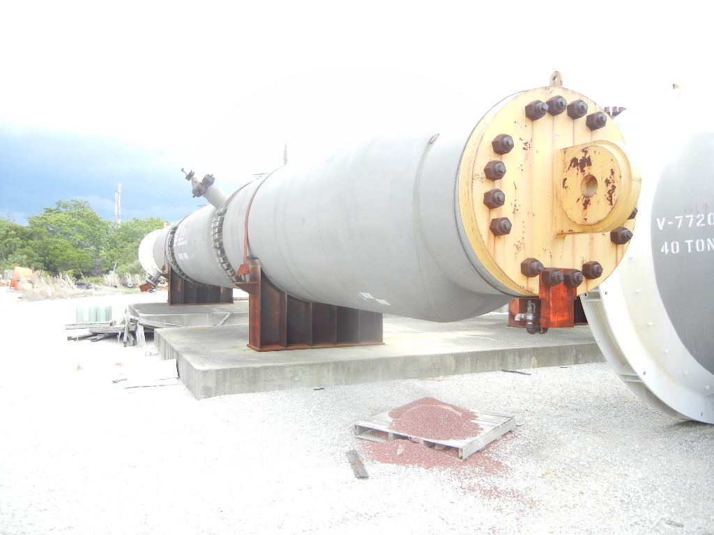 UNUSED Hydrotreating (HDS) Reactor. Rated 3240/Full Vacuum @ 850 Deg.F.. 12,000 Gallon.  6' Dia. x 58'5
