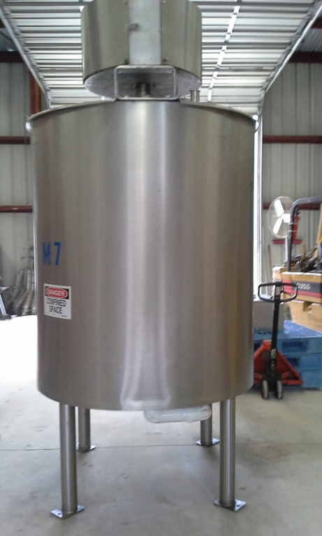 Item Used 500 Gallon Lee Sanitary Jacketed 316 Stainless