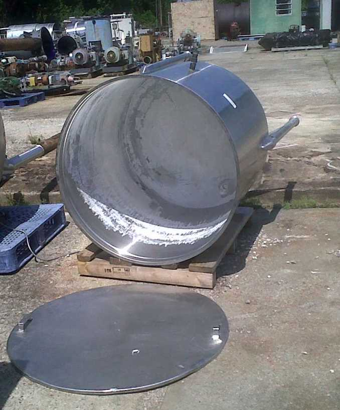 used 220 Gallon Stainless Steel tank. 40