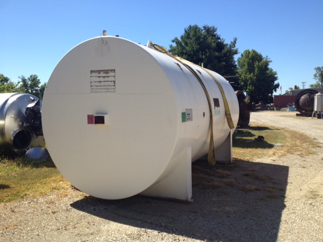 6000 Gallon Double wall self containment tank UL labeled for flammable liquid storage. Highland Tank FireGaurd insulated. Horizontal. Underwriters Laboratories Inc., Listed Secondary Containment above ground storage tank for flammable liquids. Includes (2) 8