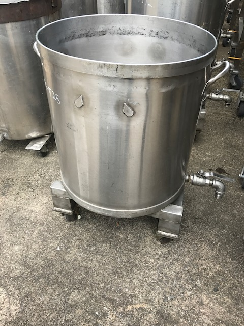 used 45 gallon Stainless Steel tank.  23