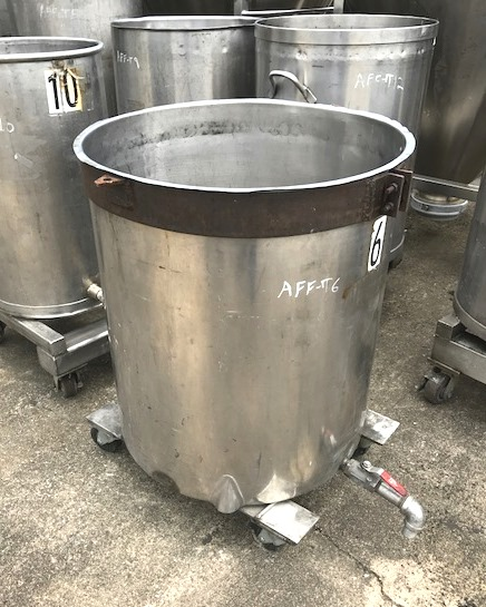 used 60 gallon Stainless Steel tank.  26