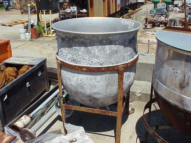 60 Gallon Stainless Steel Kettle.  Has 1.5\