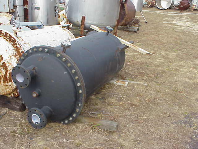 150 gallon Rubber lined carbon steel tank.  2\