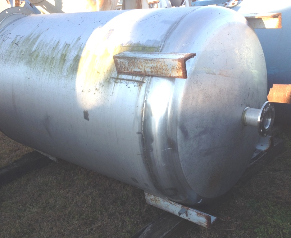 Item 800 Gallon Stainless Steel Mix Tank 4 6 Quot Dia X 6