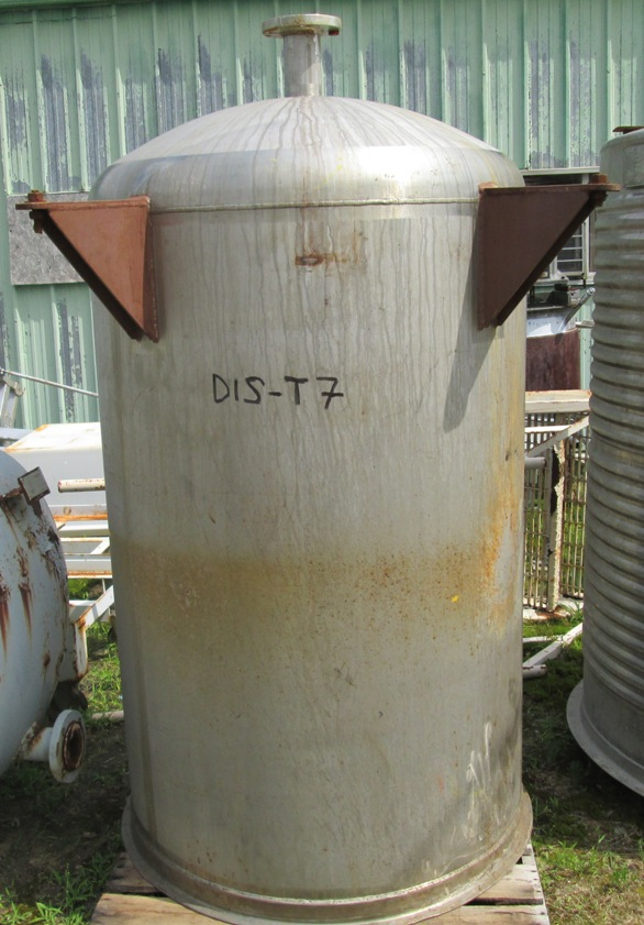 380 gallon stainless steel storage tank. 42\
