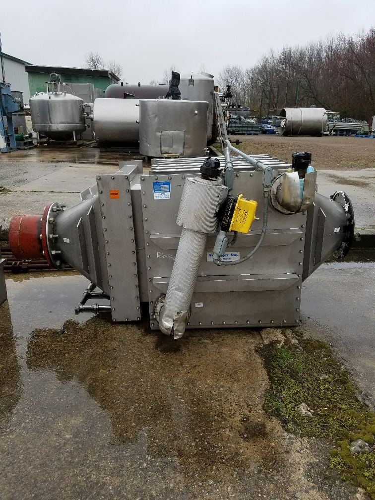***SOLD***used Xchanger model C-300 Air/Gas Heat Exchanger. Stainless Steel housing. P/N 27539. S/N 0897-B5403-1. 12