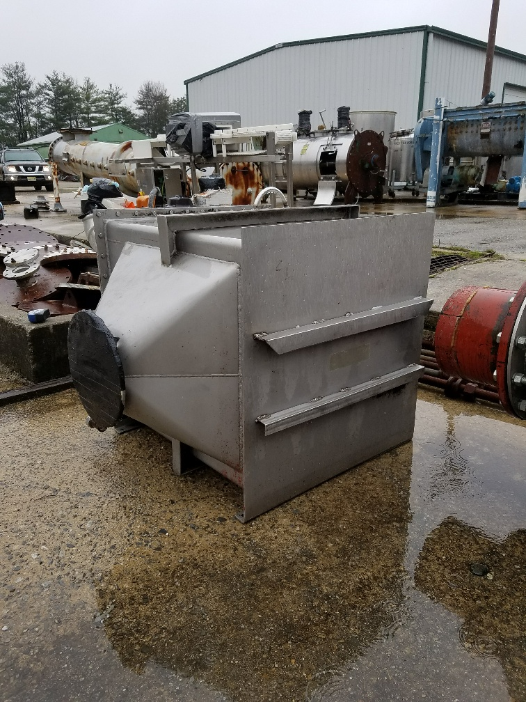 ***SOLD*** used Xchanger model C-250 Air/Gas Heat Exchanger. Stainless Steel housing. P/N 25650. S/N 896-B4739.  8