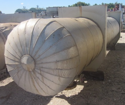 QTY (5) EACH: Used 2800 sqft. shell and tube heat exchanger.  Previously used as Debutanizer feed & bottoms exchanger.  (365 tubes, 730 holes) 3/4