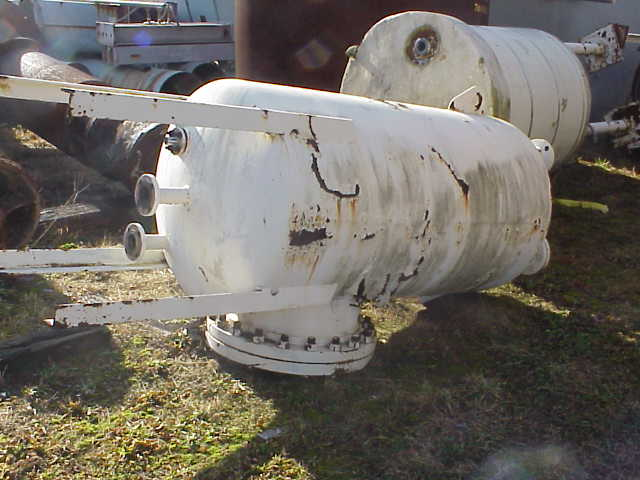 (11) Each, 350 Gallon Carbon Steel pressure vessel.  Rated 100 PSI @ 650 degF.  Has 20