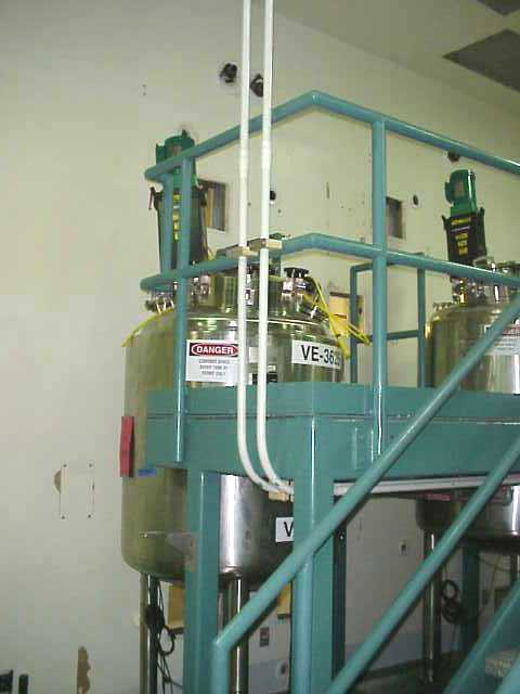 150 Gallon Feldmeier (500 Liter working volume. 730 Liter total volume) Sanitary reactor vessel. Unit is insulated. Has Lightnin agitator (mixer needs to be repaired or replaced, it has a cracked housing).