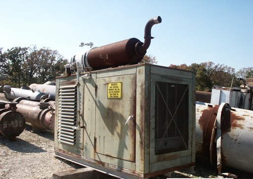 125 Continuous KVA Generator. 6 cylinder Cummins Gas Fired engine. Model GNH220IP