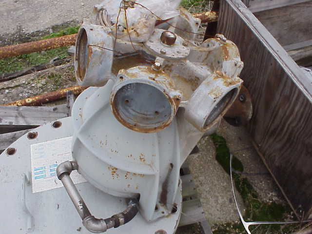 Marley gearbox. Seris 22.2. Model 22.3.  42292.  S/N A75071M410. From a Cooling tower.