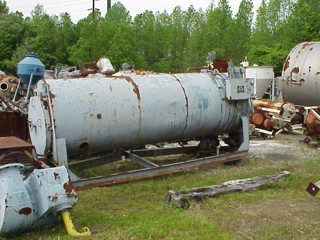 Continental Boiler, model F8D100C, gas fired package type boiler.  48