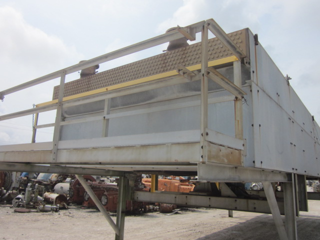 USED - AIR FIN COOLER, 83,386 Sq.Ft. MFG. BY ESEX; MODEL #711438T12. (393) 38' Lgth. x 1