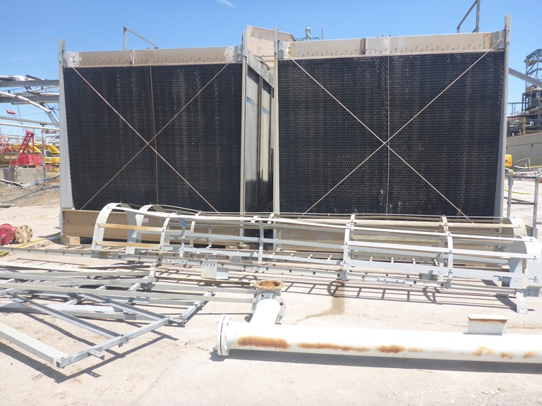(2) Each used Marley Model NC6222BS Cooling towers.  Stainless steel basin.  Rated approx. 500 Ton/unit
