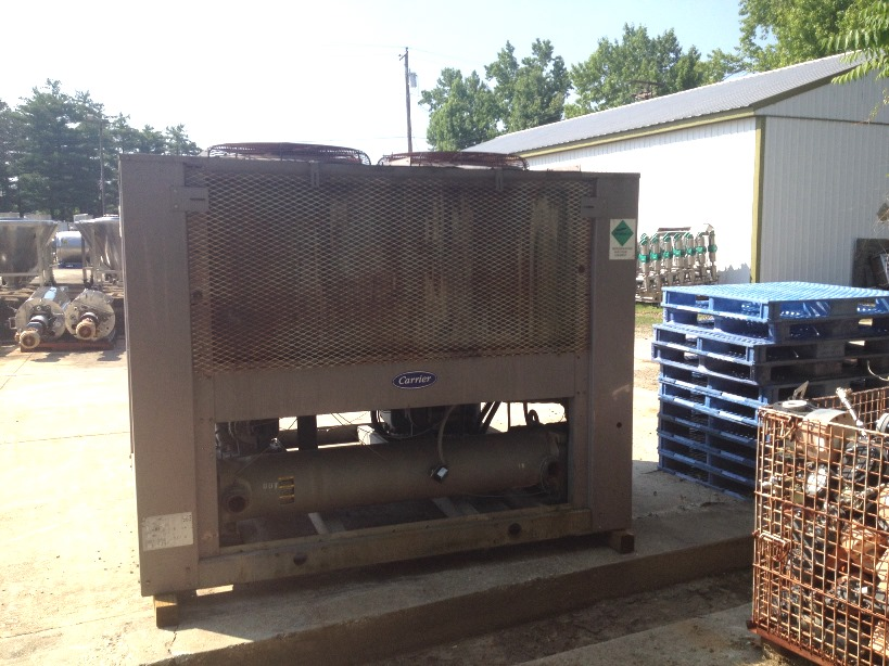 used Carrier Model 30GT-050-610KA, 50 TON Air Cooled Chiller.