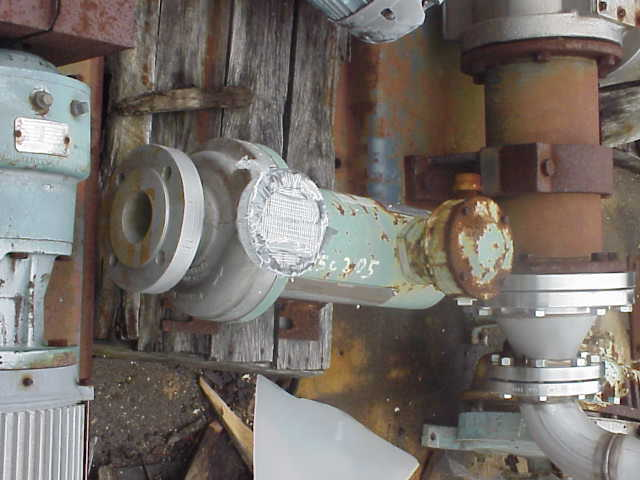 CANNED pump.  Min flow 25 GPM. 6.2 HP, 7.9 full load amp.  Model # HN23B-R3NJT-01D1.  Max pressure 229 psi @ 104 F.  Area classification CL 1, GP D, Div 2