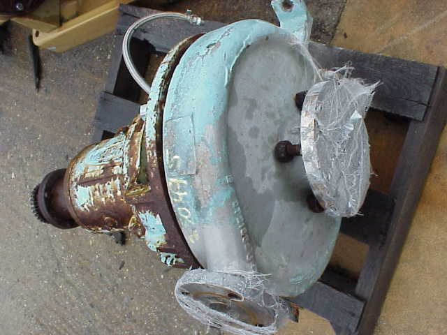 Durco Mark2 pump. No base or drive.  MWP = 275 @ 100 deg.F.  Mechanical seal type R.O.