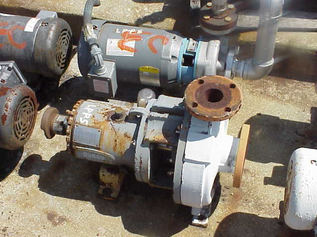 Durco pump. Pump only.  No motor.