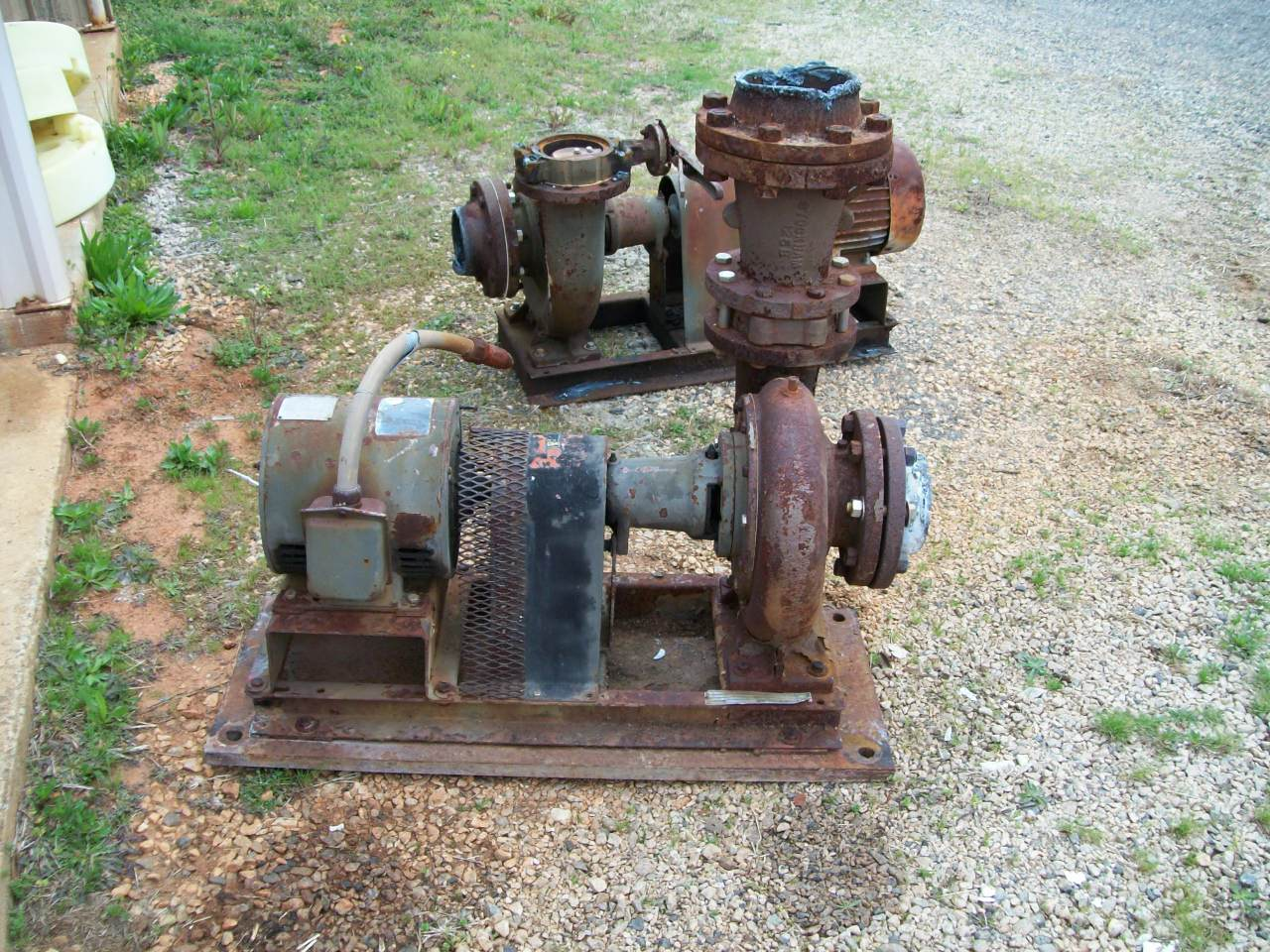 BELL & GOSSETT modle 4BC pump Powered by 10hp Century Electric motor, NB#-6-358362-01, Frame-S215, type-SC, amps-24.4/12.2, 1750 rpm, 230/460
