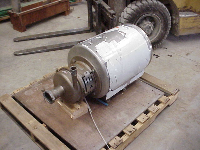APV type: WI+55/35 380N 185, Sanitary  Centrifugal pump. 3