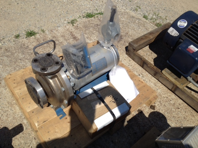 Unused Stainless Steel Sealless Canned Motor 3