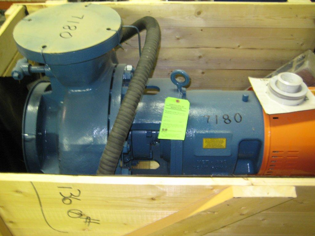 ***SOLD***UNUSED 6 x 8 x 15-1/2 Carbon Steel Centrifugal Pump by MetPro (Dean Pump Div), Model R4244, Rated 1400 GPM at 200' TDH. 14.5