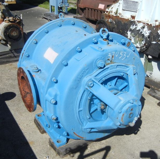 used Nash Vacuum Pump.  Model# H-9. s/n 8944RC.  Rated 1800 CFM @ 15 PSIG discharge.