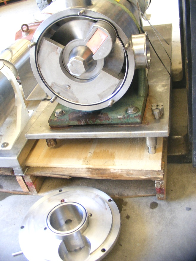used Sine Pump, model SPS-NNTC, 4