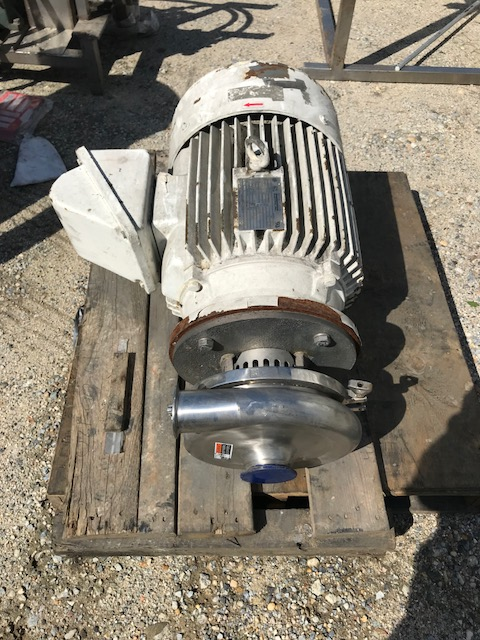 used Waukesha Model 2085 Sanitary pump. 3