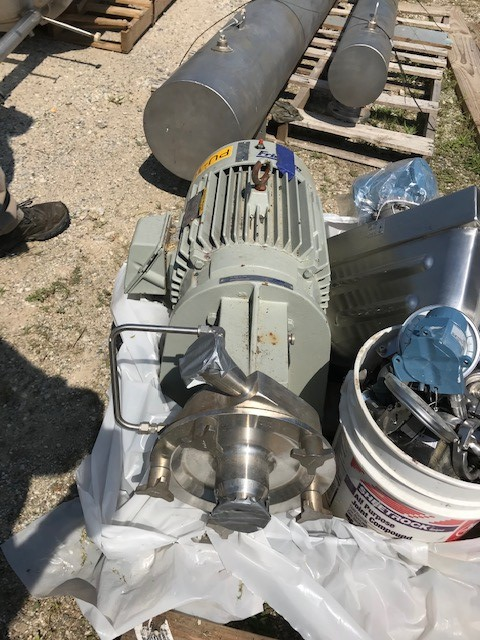 used Fristam Model FP742-175 sanitary centrifugal pump. 2.5