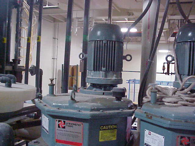(7) used 5 HP Philadelphia Mixer / Agitators.  Bolt-on. Model 4040PTO. Output RPM 125
