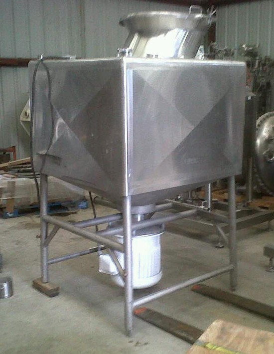 ***SOLD*** used 300 Gallon BREDDO Model LDT-300 Likwifier/Liquifier/Liquefier. 37.5 HP, 230/460 volt. 48