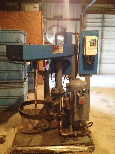 used Cowles Dissolver model 7-VTV.  Has 36