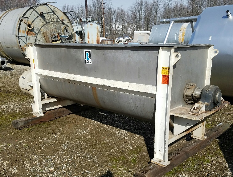 used 100 CU.FT. ROSS Stainless Steel Ribbon Blender.  120