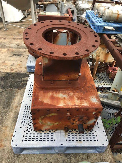 used 75 HP Philadelphia Gear box for Mixer.  Size/Type 3809S.  Order # 22220. Input rpm 1750, output 230 rpm. 7.6:1 ratio.  S/N 98DID0229-1.