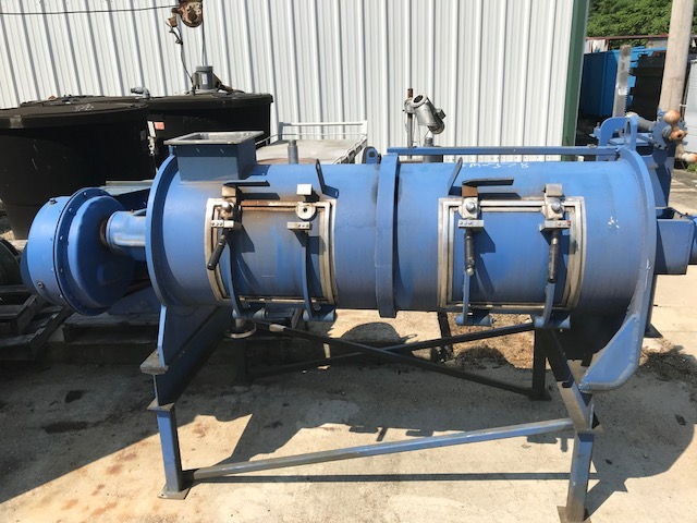 ***SOLD*** used Littleford Plough/Plow Blender, Stainless Steel. Approx. 10 Cu.Ft. (300 Liter) Total Capacity. Mixing chamber is 20