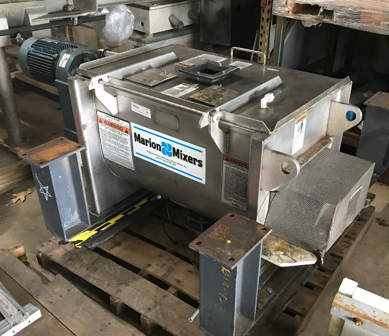 used 4 Cu.Ft. Marion Stainless Steel Ribbon Blender. 18