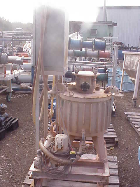 Used Electro Magnetic Filter / Separator. Nippon Model CS-160 with cooler. Source AC 232V, 60 Hz, Load Volt DC 180; Load Amp DC 16A; Exciting Power 1.28KW; Rating Cont.