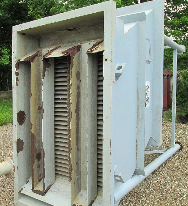 Used Lamella Inclined Plate Clarifier with mix tank / flocculent/flash tank.  (30) 4' x 4' plates. 3