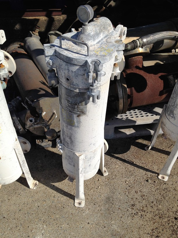 used Filtration Systems Basket/Bag Filter. Stainless Steel approx. 8