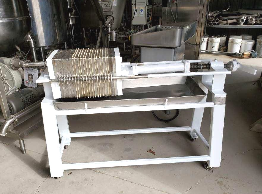 used Star Tank & Filter Stainless Steel Filter Press, Model 20SS4.213S.S2.BIC & 177. S/N 73283. Has (21) Stainless Plates. Plate Dims.: Aprox. 13