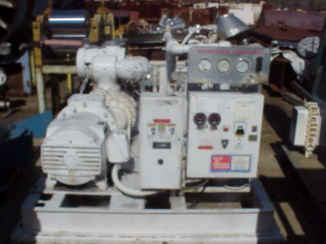 Item 100 Hp Compressor Unit Was Completely Rebuilt In